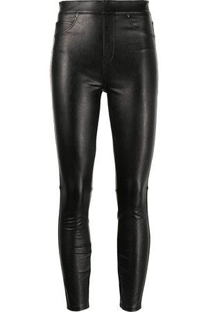 Spanx Like Leather high-rise skinny pants