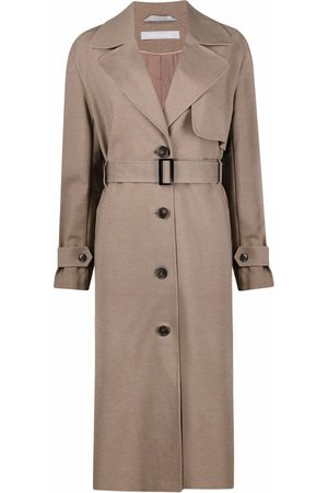 12 STOREEZ Mantel mit Gürtel - Nude