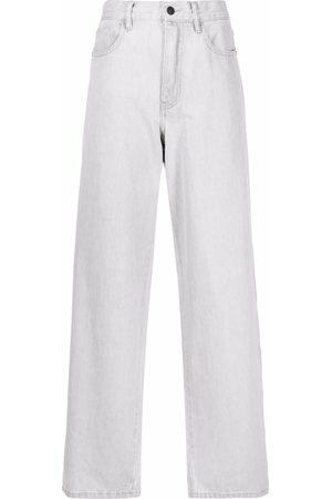 12 STOREEZ Weite High-Waist-Jeans