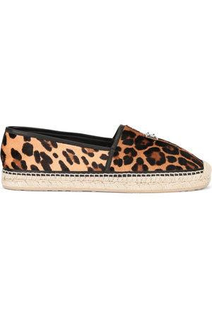Dolce & Gabbana Espadrilles mit Leoparden-Print