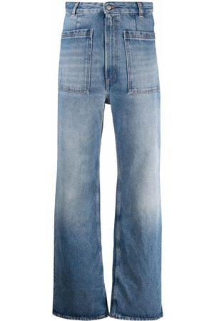 MM6 MAISON MARGIELA Weite High-Waist-Jeans