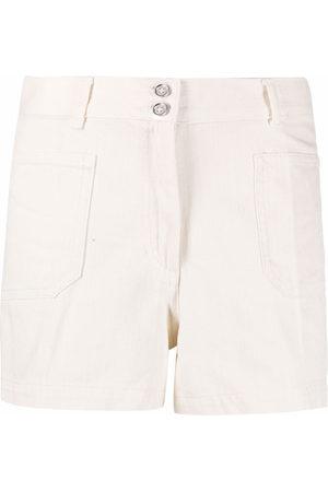 A.P.C. Shorts mit hohem Bund - Nude
