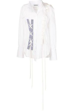 MONSE Asymmetrisches Hemd mit Schnürung