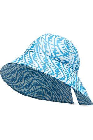 Fendi FF Fish Eye Hut mit breiter Krempe