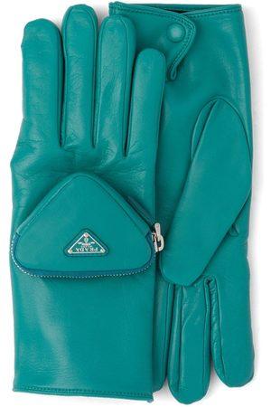 Prada Herren Handschuhe - Handschuhe mit Logo