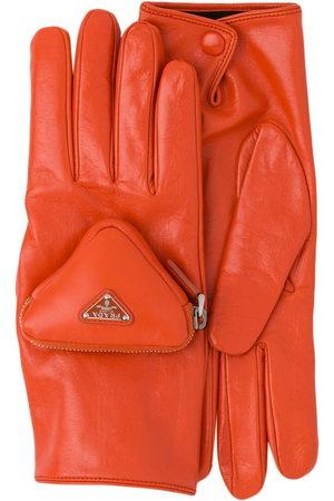 Prada Handschuhe mit Tasche
