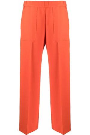 Jil Sander Cropped wide-leg trousers
