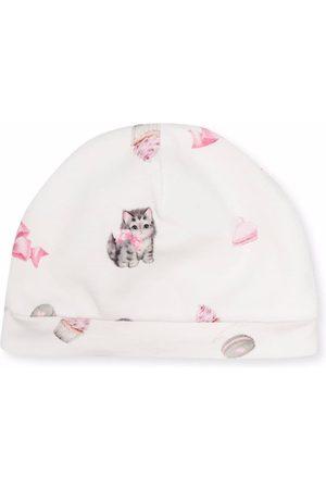 MONNALISA Mütze mit Kätzchen-Print