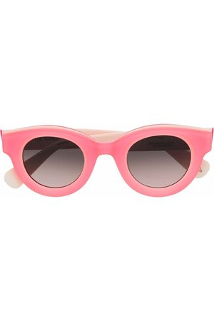 Etnia Barcelona Sonnenbrille mit rundem Gestell