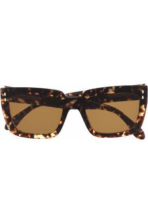 Isabel Marant Cat-Eye-Sonnenbrille in Schildpattoptik