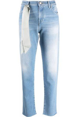 Jacob Cohen Halbhohe Straight-Leg-Jeans