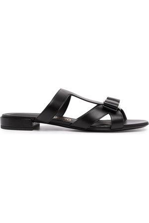 Salvatore Ferragamo Vara Bow slip-on sandals