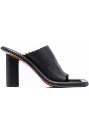 AMBUSH Sandalen mit hohem Absatz - 1010 BLACK BLACK