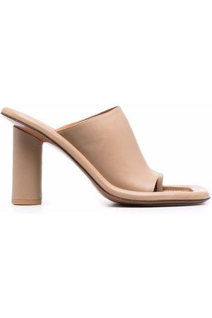 AMBUSH Sandalen mit hohem Absatz - Nude