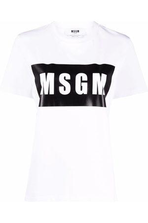 Msgm T-Shirt mit Logo-Print