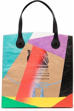 Lanvin X GALLERY DEPT. Kraft Papier-Shopper