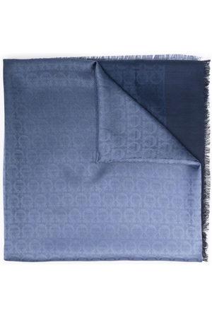 Salvatore Ferragamo Jacquard-Schal mit Logo