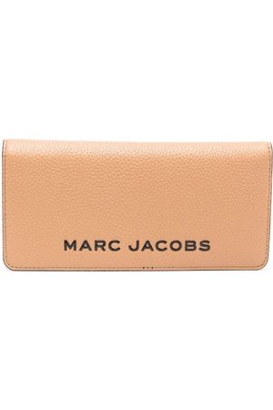 Marc Jacobs Portemonnaie mit Logo - Nude