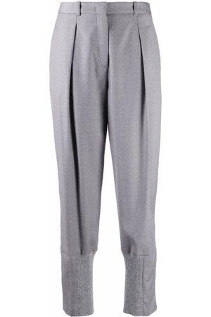 Fabiana Filippi High-waisted cropped trousers