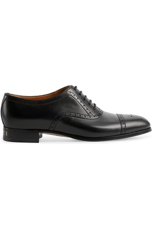 Gucci Derby-Schuhe mit Budapestermuster