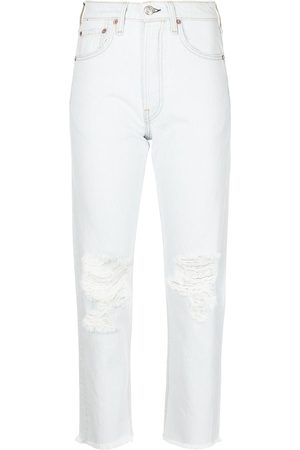RAG&BONE Maya Slim-Fit-Jeans mit hohem Bund