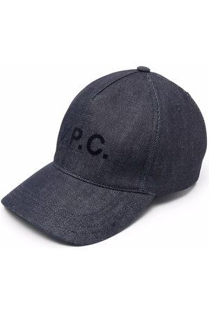 A.P.C. Baseballkappe mit Logo-Print