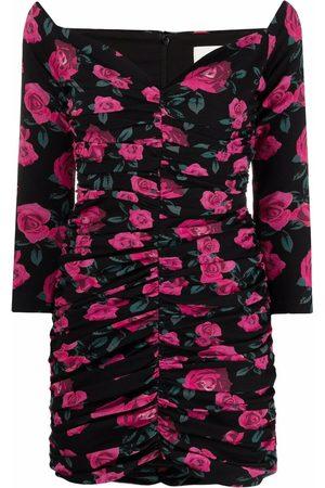 GIUSEPPE DI MORABITO Kleid mit Rosen-Print