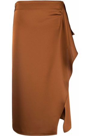 The Attico Side-slit skirt