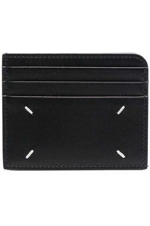 Maison Margiela Four-stitch compact cardholder