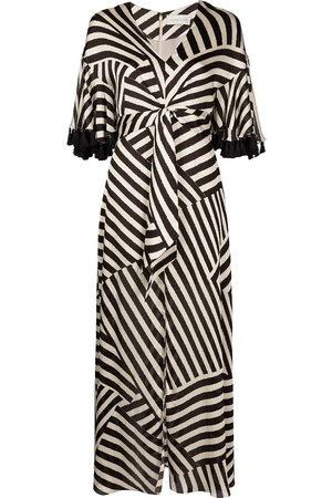 Sachin & Babi Jacynda mix-stripe dress