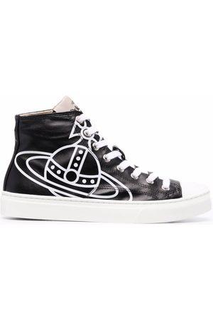 Vivienne Westwood Logo-print high-top sneakers