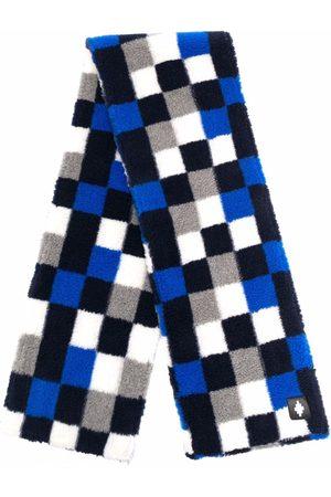 MARCELO BURLON Checkerboard-print scarf