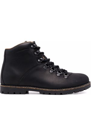 Birkenstock Leather lace-up boots
