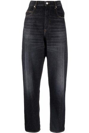 Isabel Marant Boyfriend-Jeans mit hohem Bund