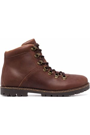 Birkenstock Jackson nubuck-leather boots