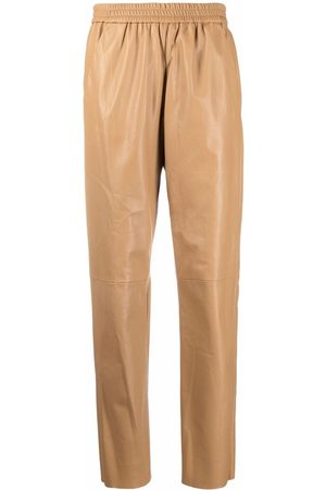 DROME High-rise tapered trousers - Nude