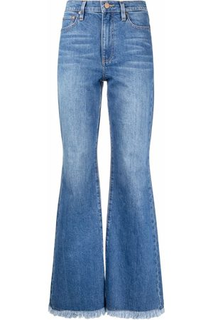 ALICE+OLIVIA High-rise flared jeans