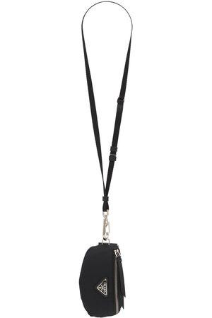 Prada Schlüsselhalter Aus Nylon Logodruck