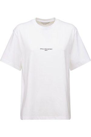 Stella McCartney T-shirt Aus Bio-baumwolljersey Mit Logo
