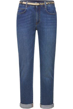 Stella McCartney Enge Boyfriend-jeans Aus Baumwolldenim
