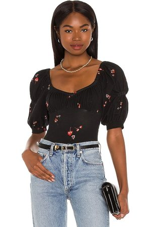 Free People Damen Shirts - Play Date Bodysuit in . Size XS, S, M, XL.