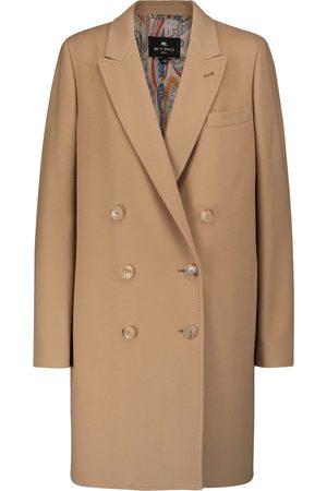 Etro Damen Blazer & Sakkos - Mantel aus Wolle