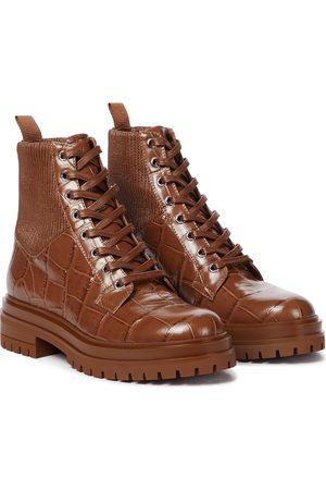 Gianvito Rossi Damen Stiefeletten - Ankle Boots Martis 20 aus Leder
