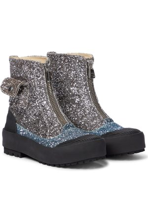 J.W.Anderson Damen Stiefeletten - Ankle Boots Duck mit Glitter