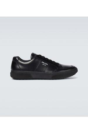 Prada Linea Rossa Sneakers aus Leder