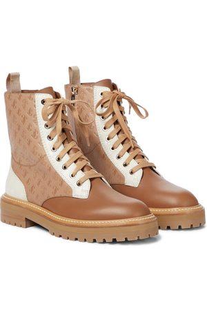 Jimmy Choo Verzierte Ankle Boots Cora aus Leder