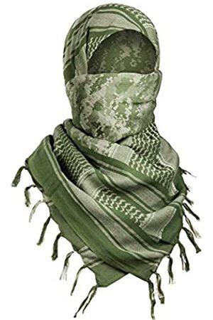 FREE SOLDIER Schal Militär Shemagh Tactical Desert Keffiyeh Kopf Hals Schal arab Wrap mit Quaste 109,2 x 109