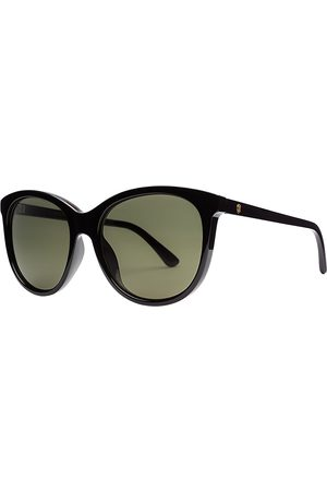 Electric Palm Gloss Black Sunglasses
