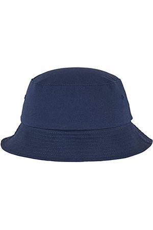 Flexfit Cotton Twill Bucket Hat - Unisex Anglerhut für Damen und Herren, einfarbig, mit patentiertem Band, Farbe