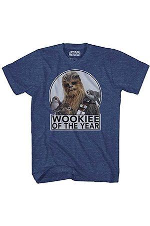 STAR WARS T-Shirt Männer Chewbacca Wookie des Jahres Porgs T-Stück SM